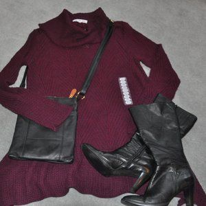 Knit Long Sleeve Sweater  NWT